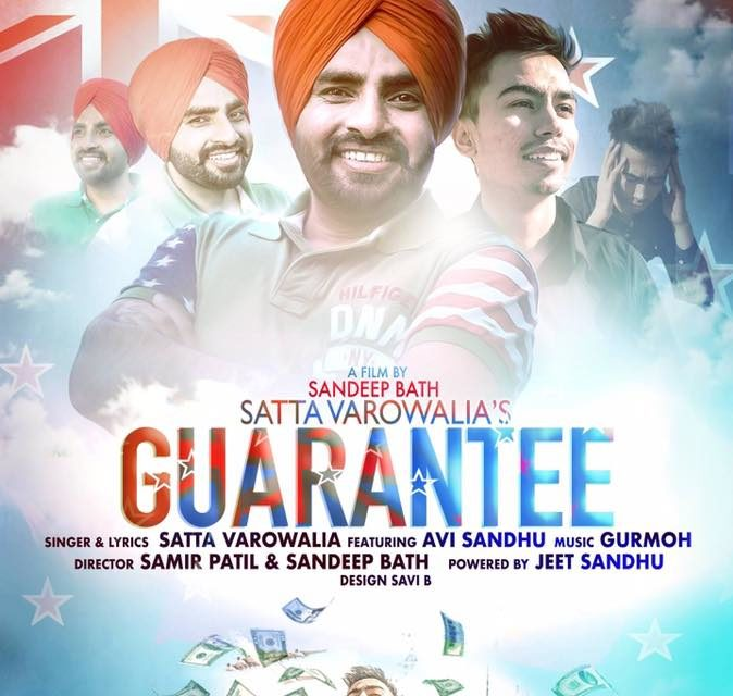 Satta Vairowalia's new Punjabi song Guarantee first look Song released