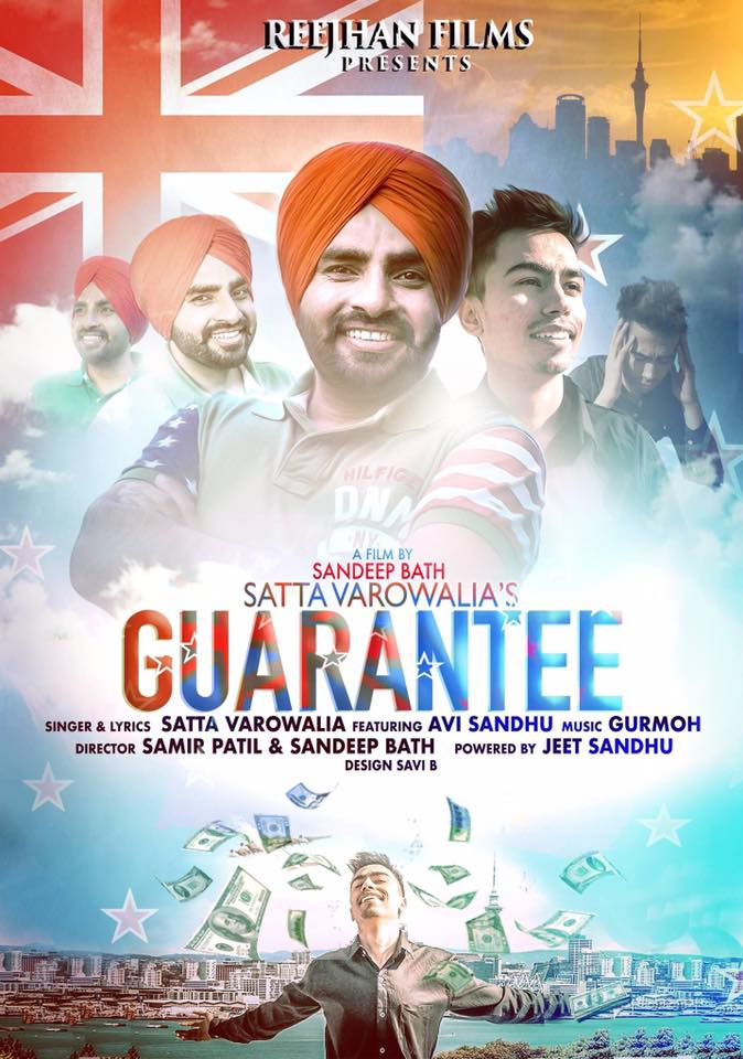 Guarantee new Punjabi song first poster released
