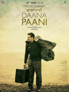 First look poster of Daana Paani movie