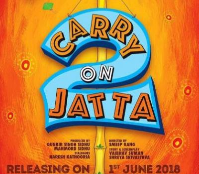 Most Awaited Punjabi Movie Carry On Jatta 2 Release Date Revealed