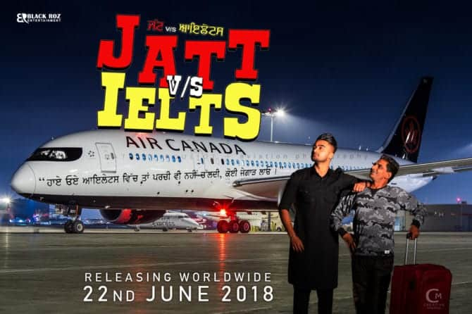 Official Trailer Of New Punjabi Movie JATT Vs IELTS Released