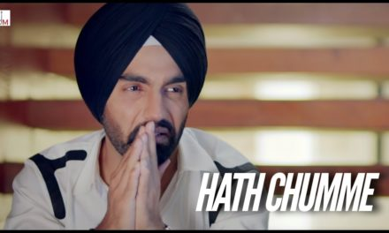 Ammy Virk's New Punjabi Song Hath Chumme Teaser Out