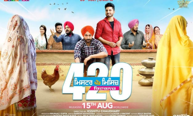 Mr & Mrs 420 Returns Poster: Get ready to witness the madness on 15 August