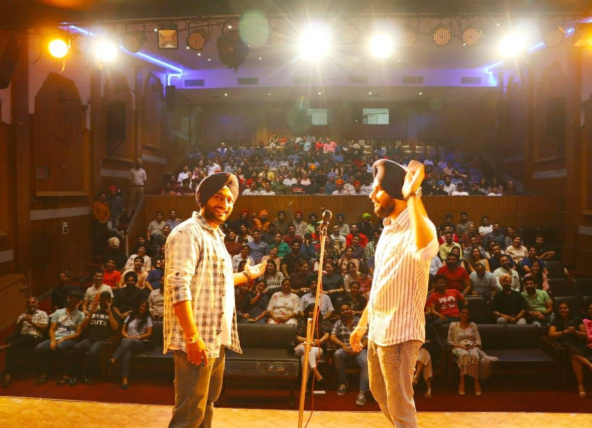 Standup comedian The Comic Singh Success journey