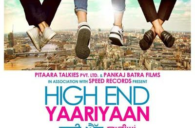 1st look of 'High End Yaariyaan'