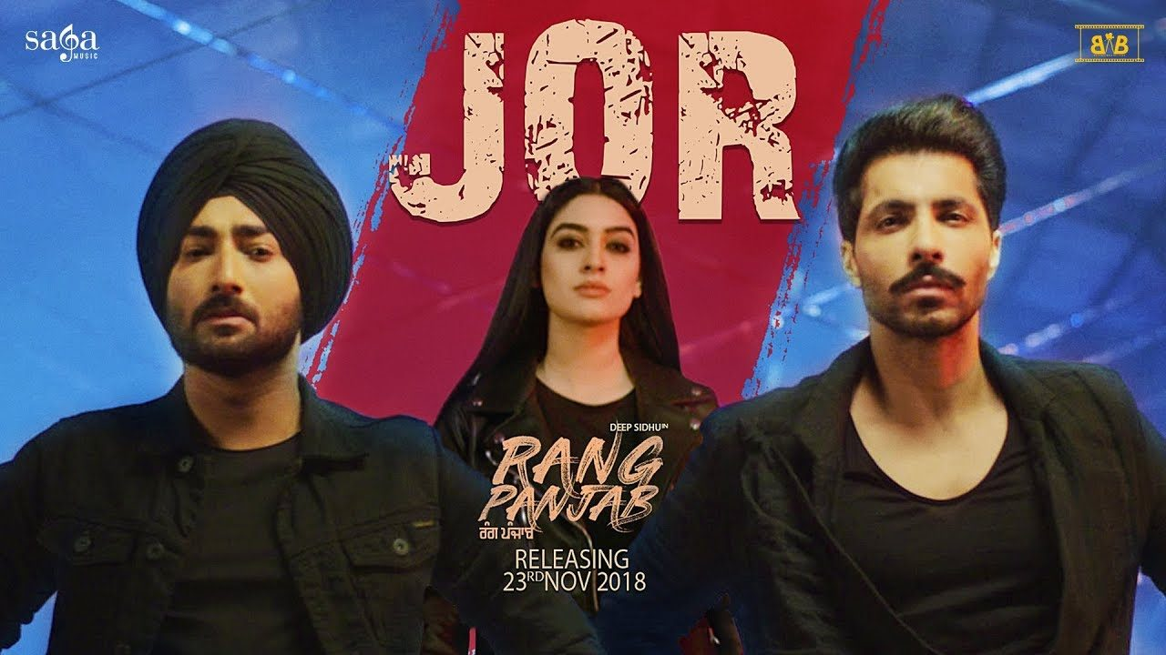 Jor Song of Ranjit Bawa – The force of friendship in Rang Panjab Movie